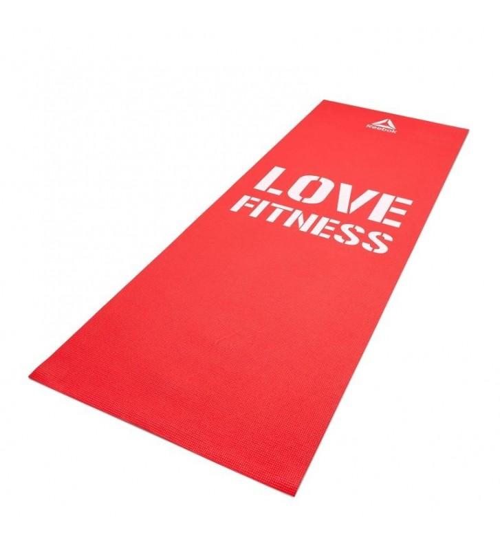 Mata fitness Love Reebok 4mm RAMT-11024RDL