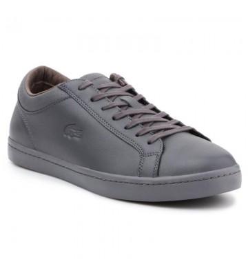 Buty Lacoste Straightset 4 Srm Gry Leather M 30SRM4015