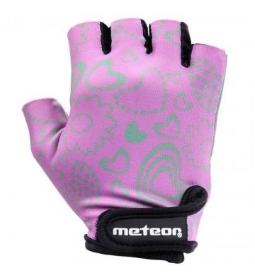 Rękawiczki rowerowe Meteor Flower Jr 23374