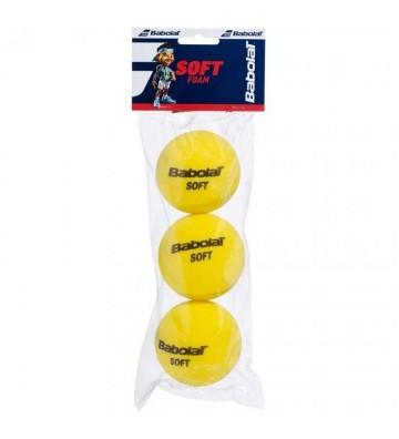 Piłki tenisowe Babolat Soft Foam 3szt 501058
