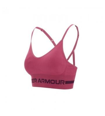 Stanik sportowy Under Armour Seamless Low Long Bra W 1357719-678