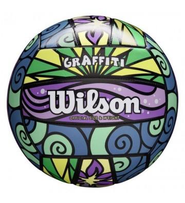 Piłka do siatkówki Wilson Graffiti Orig WTH4637XB