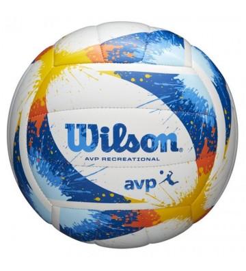 Piłka siatkowa Wilson Avp Splatter WTH30120XB