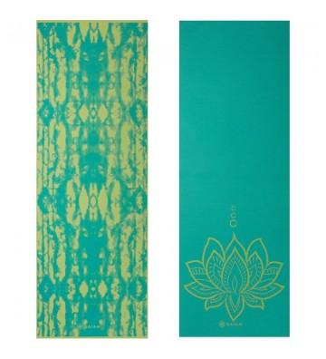 Mata do Jogi dwustronna GAIAM Turquoise Lotus 6 MM 62344