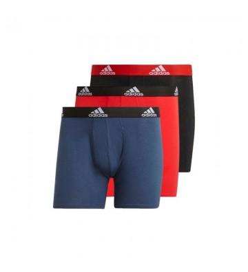 Bielizna adidas Logo Boxer Briefs 3 Pairs M GN2018