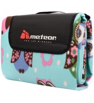 Koc piknikowy Meteor 200x200cm XXL sowy 77125