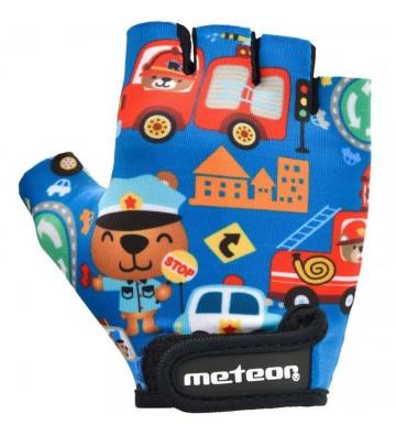 Rękawiczki rowerowe Meteor Safe City Junior 26178-26179-26180