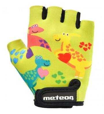 Rękawiczki rowerowe Meteor Dino Junior 26190-26191-26192