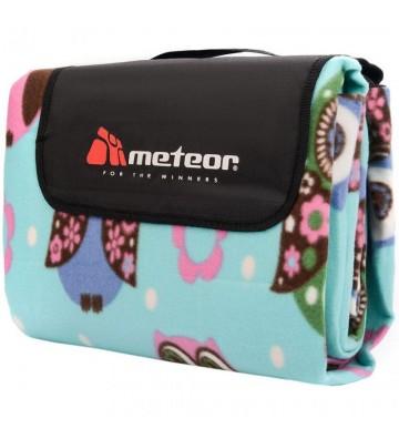 Koc piknikowy Meteor 220x260cm 4XL sowy 77130