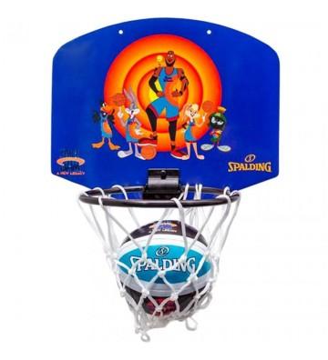 Tablica do koszykówki Mini Spalding Space Jam Tune Squad fioletowo-pomarańczowa 79005Z