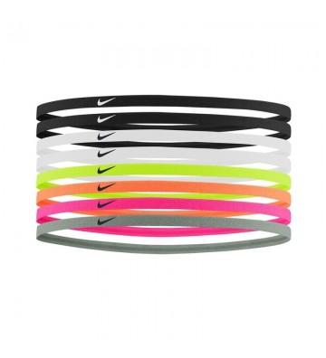 Opaski na włosy Nike Skinny Hairbands 8-pak N0002547-909